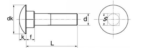 50 x Boulons M8 x 130 t/ête ronde collet carr/é Vis TRCC avec /Écrou et Rondelle Longueurs 20-200mm choix 50x M8x130